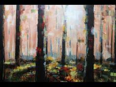 Résultats de recherche d'images pour «abstract forest painting»