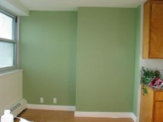Spring Mix by Behr - great soft green. Maybe for our bedroom?