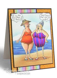 Sandy Allnock Beach Ladies