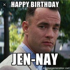 For my cousin, Jen