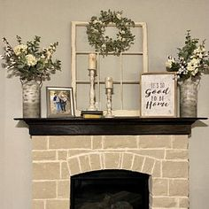 Greenhouse reclaimed salvaged window sashes 8 panes yard decor very cool Above Fireplace Decor, Fireplace Mantle, Fireplace Design, Corner Mantle Decor, Fireplace Ideas, Mantel Ideas, Decor Ideas, Decorating Ideas, Wall Ideas