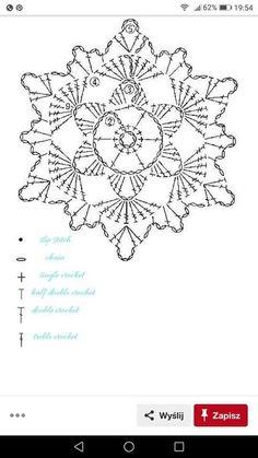 No 7 large snowflake lace crochet motifs 눈송이 모티브도안 네이버 블로그 salvabrani Crochet Snowflake Pattern, Crochet Stars, Crochet Snowflakes, Crochet Flower Patterns, Crochet Stitches Patterns, Thread Crochet, Crochet Flowers, Crochet Gifts, Diy Crochet