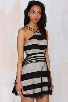 Again Loco Dolly Mesh Dress - Going Out