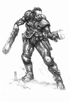 Van Saar - Necromunda - GW Character Inspiration, Character Art, Character Design, Warhammer 40k Rpg, Necromunda Gangs, Sci Fi Characters, Animation, Fan Art, The Grim