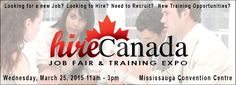 Hire Canada assists individuals in finding new jobs, careers and information on new training programs. Job Fair, Career Coach, Convention Centre, New Job, Training Programs, Opportunity, Resume, Coaching, Canada