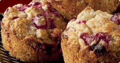 Cranberry Streusel Muffins | Krusteaz