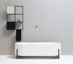 Bañera independiente / ovalada / de LivingTec® STAND by Norm Architects ex.t