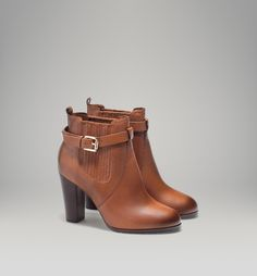 HIGH HEELED LEATHER STRETCH ANKLE BOOT - View all - Shoes - WOMEN - Bosnia-Herzegovina