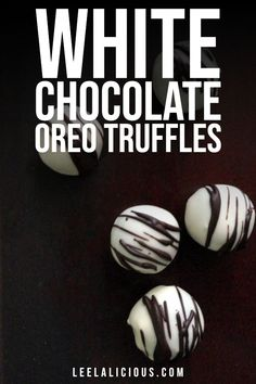 Even simple Oreo cookies can be turned into decadent truffles with a fine white chocolate shell. White Chocolate Oreos, Chocolate Shells, Chocolate Fudge, Oreo Cookie Truffles, Homemade Truffles, Simple, Food, Essen, Meals