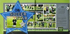 The Paper Orchard: Our Soccer Star
