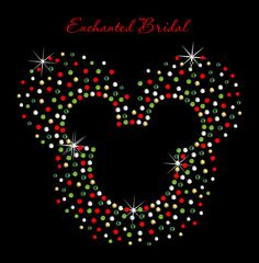 Disney Inspired Christmas Scatter Mickey Iron by EnchantedBridal