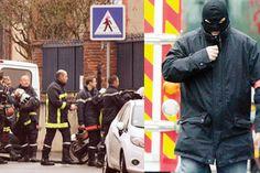 Hayalet sürücüye dev kuşatma - Fransa'nın güney kenti Toulouse'da bir Yahudi okulunun önünde dört kişiyi öldüren saldırganın evi dün film gibi bir operasyonla kuşatıldı.