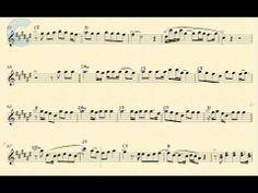 Tenor Saxophone - Counting Stars - OneRepublic - Sheet Music, Chords, & Vocals - YouTube