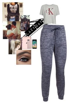"""Lazy Day"" by officalbella-grier on Polyvore featuring Under Armour and Calvin Klein"