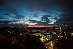 stockholm, by night