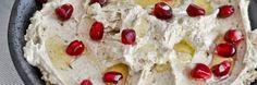 Labne met Arabische kruiden en granaatappelpitjes
