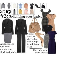 Building a Work Wardrobe: Step 3 of 5 See also : Step 1, Step 2, Step 4 & Step 5.