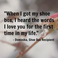 Dominika was raised in Slovakia, and her family was very poor. When she was four years old, her father left them, and her mother had no money to buy gifts for Christmas. That year, Dominika received a shoe box gift from Operation Christmas Child. For the first time, as she read the note in her box talking about Jesus' love, she felt that someone loved her.