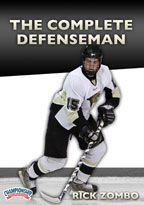 The Complete Defenseman - with Rick Zombo,  Lindenwood University Head Coach; 2x ACHA Championship coach;  Former NHL Defenseman for 12 years, with the Detroit Red Wings, St. Louis Blues and Boston Bruins (652 NHL games);  Former NCAA champion defenseman and 3 time letter winner with the University of North Dakota; Member of the USA World Junior Team