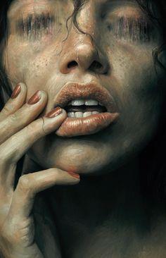 Paintable.cc   50 Stunning Digital Painting Portraits: Sam Spratt