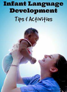 Spark your infants language development with tips and activities shared by a speech language pathologist. Infant Activities, Learning Activities, Activities For Kids, Language Development, Baby Development, Speech Language Therapy, Speech And Language, Best Speeches, Potty Training Tips