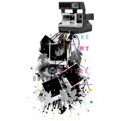 Camera Obscured is a T Shirt designed by NeonTiger to illustrate your life and is available at Design By Humans