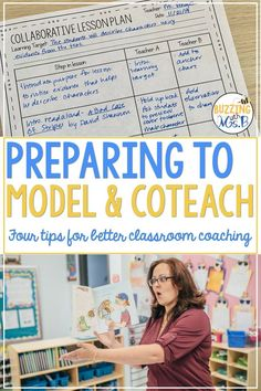 Modeling and coteaching are important parts of instructional coaching and the coaching cycle. Texas Teacher, Teacher Blogs, Student Teacher, Teacher Stuff, Co Teaching, Teaching Activities, School Leadership, Leadership Coaching, Math Coach