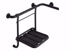 Powder coated steel shower Seat / bath-tub seat SDA | Shower Seat by Saniline