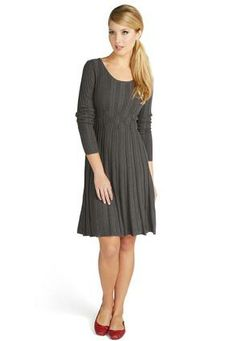 Cato Fashions Scoop Neck Sweater Dress #CatoFashions