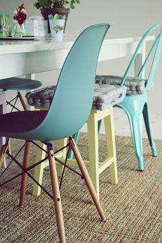 Chairs salad...