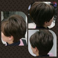 Ki a rövid haj párti? Ez a sötét nőies frizura, hogy tetszik?   www.magdiszepsegszalon.hu/fodraszat