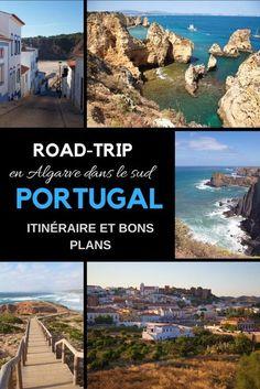 Algarve : Itinéraire d'un road-trip en famille au Portugal - New Ideas Faro Portugal, France Portugal, Portugal Travel, Road Trip France, Road Trip Europe, Connemara, Family Road Trips, Destination Voyage, Roadtrip