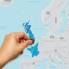 Are you interested in our scratch map ? With our scratch map europe you need look no further.