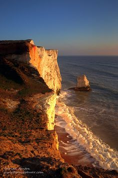 Seaford Head, East Sussex late afternoon
