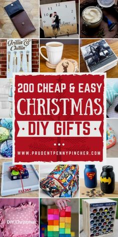 200 Cheap and Easy DIY Christmas Gifts Spread holiday cheer with these cheap and easy DIY Christmas gifts. There are hundreds of DIY gift ideas for the family (mom, dad, kids, teens) and friends. Mason Jar Christmas Gifts, Diy Christmas Gifts For Family, Christmas Gift Baskets, Christmas Christmas, Christmas Offers, Christmas Presents, Christmas Ideas, Christmas Crafts, Christmas Decorations