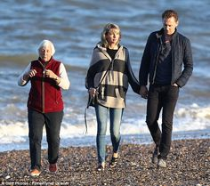 Life's a beach! Taylor Swift and Tom Hiddleston appeared every inch the settled-down coupl...