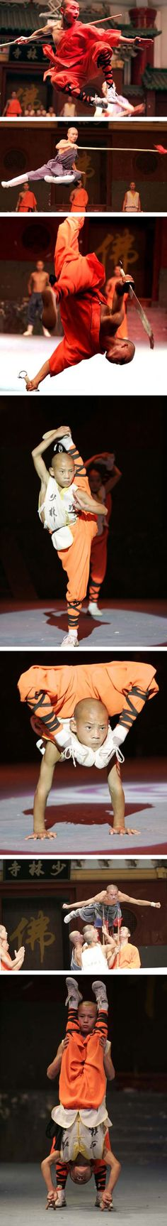 ♂ Performance of Shaolin Kungfu stages in Zhengzhou from http://english.peopledaily.com.cn/200409/16/eng20040916_157209.html