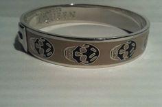 Alexander McQueen skull bracelet - http://designerjewelrygalleria.com/alexander-mcqueen/alexander-mcqueen-skull-bracelet/