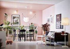 Una stanza dipinta in due colori diversi - IKEA