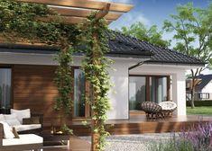 Projekat moderne prizemne kuće s garažom – Hipokrates