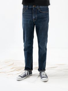 Sleepy Sixten Authentic Dark - Nudie Jeans