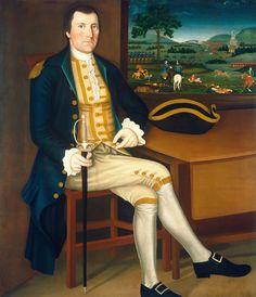 Captain Samuel Chandler, 1780 by Winthrop Chandler