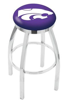Kansas State University Flat Ring Bar Stool✖️More Pins Like This One At FOSTERGINGER @ Pinterest✖️