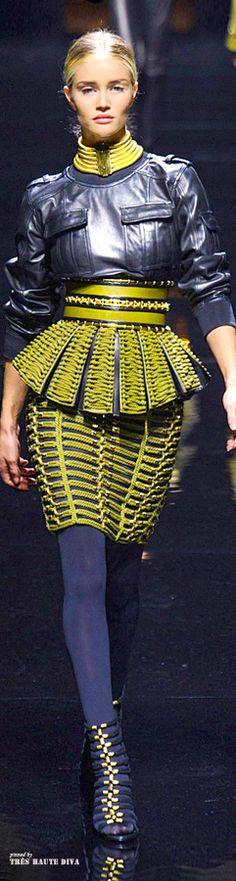 #Paris Fashion Week #Balmain Fall 2014 RTW