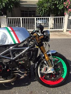 Ducati S4R Cafe Racer by Triple555 #motorcycles #caferacer #motos | caferacerpasion.com _______________________ WWW.PACKAIR.COM