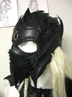 drow helmet by Sharpener.deviantart.com on @deviantART