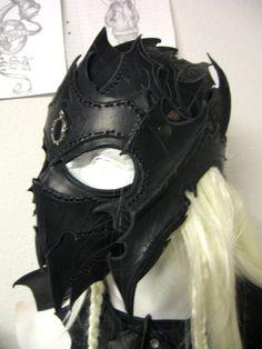 drow helmet by Sharpener.deviantart.com on @deviantART