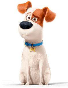 Терьер Макс - персонаж мультфильма «Тайная жизнь домашних животных»