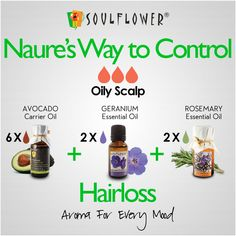 Natures Way to Control Hairloss (Oily Scalp)