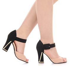 m.passarela.com.br produto sandalia-salto-vizzano-6260200-bege-6091226604-0 Gorgeous Heels, Beautiful Shoes, Shoe Boots, Shoes Sandals, Feet Care, Pretty Shoes, Wedding Shoes, Designer Shoes, Block Heels